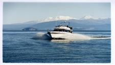 Lake Taupo Fishing boat