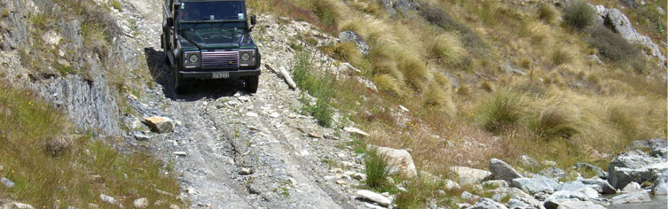 4WD tours in Central Otago, New Zealand