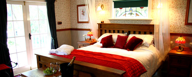 Charlemagne Lodge offers luxury bed and breakfast accommodation with a touch of romance
