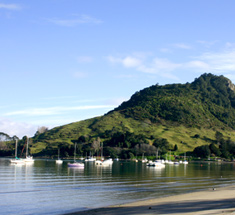 Walk to the top of Mauao for incomparable views to Tauranga