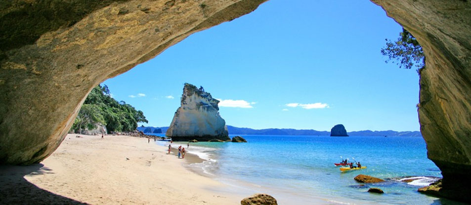 Coromandel Adventures taking you on stunning Catherdral Cove tours