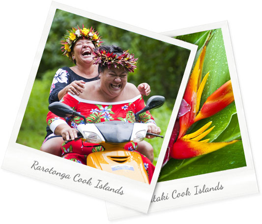 Colourful life in the Cook Islands