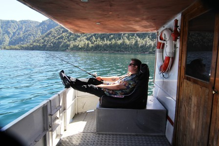 During your conference or meeting here at our Rotorua lodge, take a cruise on our boat, the MV Waiora