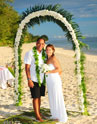 Beachfront Rarotonga wedding at Manuia Beach Resort, your Rarotongan beach resort.