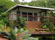 One of the 5 bungalows on the hillside!