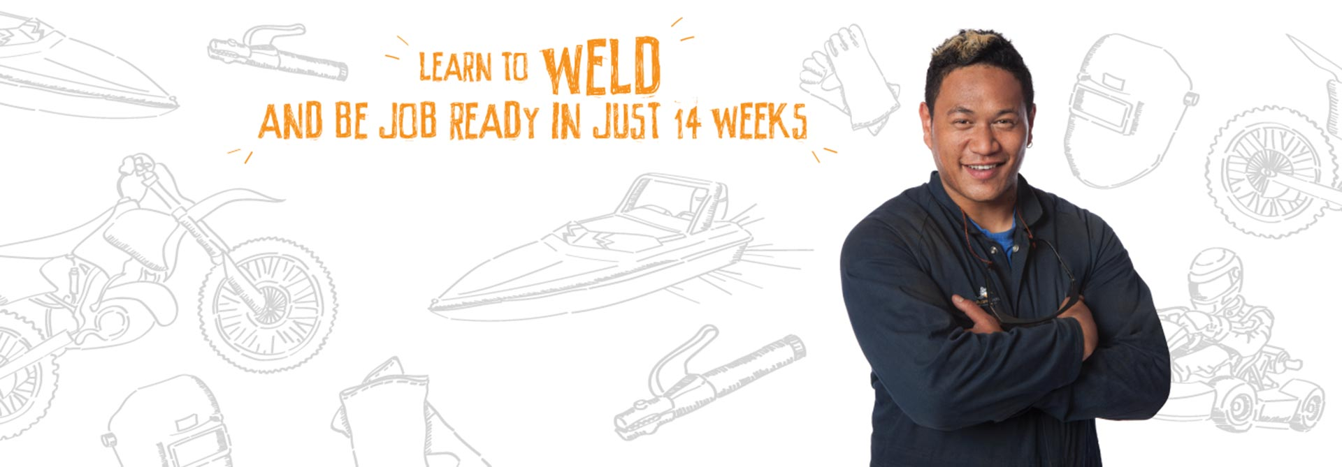 Welding level 3, 4 and starter courses available