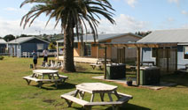 Raglan Kopua Holiday Park Outdoor Seating