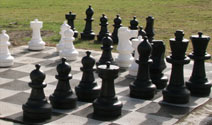 Raglan Kopua Holiday Park Outdoor Chess Set