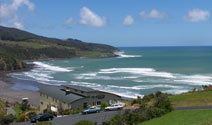 Safe family swimming and water sports in Raglan Harbour