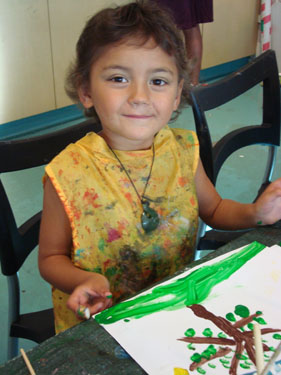 Our family art classes is a time for children and adults alike to put aside their worries and have fun!