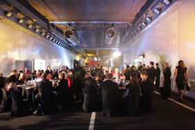 Our Victoria Park Tunnel dinner created a real media buzz!