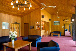 Lakes Lodge reception