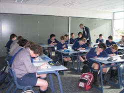 Timaru Boys High School Classroom - TBHS