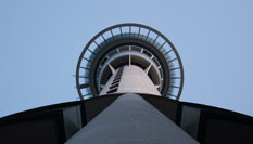 Sky City, Sky Jump and Sky Walk all from the Sky Tower, located in Central Auckland