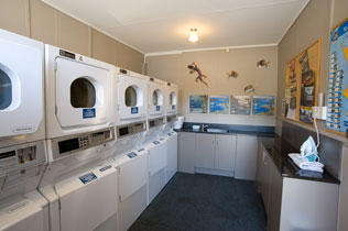 Laundry Facilities at Te Anau TOP 10 Holiday Park
