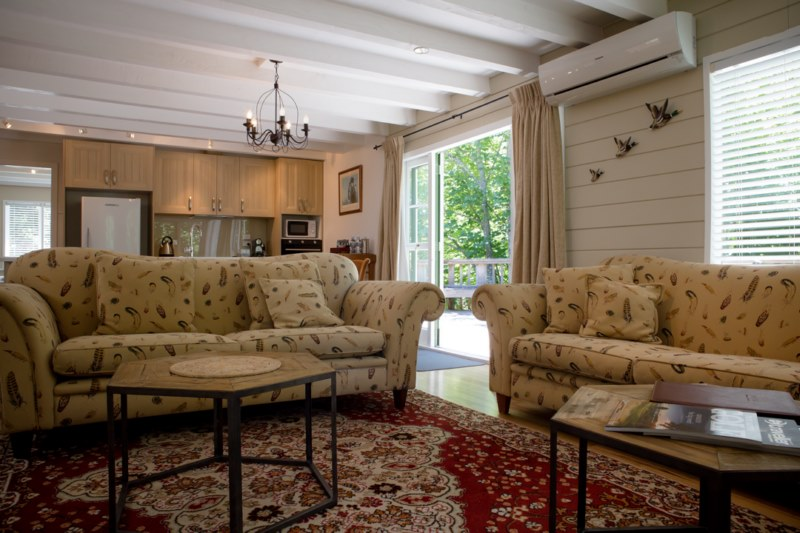 The newly refurbished interior of Pheasant Cottage