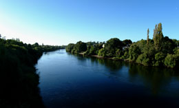 The mighty Waikato River - book your scenic cruise today!