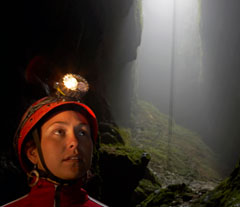 Brilliant scenery within the Waitomo Caves