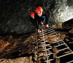 Get great Waitomo Adventure caving, abseiling, blackwater rafting, tubing and climbing deals