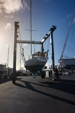 Gulf Harbour Marina Haul Out Services