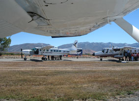 Fuel system in use at Pukaki Airport