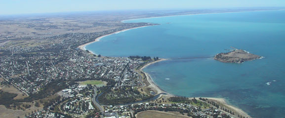 Aerial View of Victor Harbour